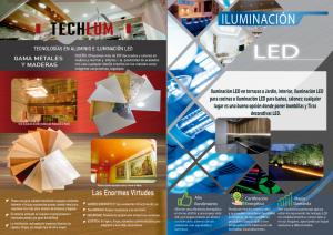 ILUMINACIÓN LED-TECHOS Y OARDES DE ALUMINIO
